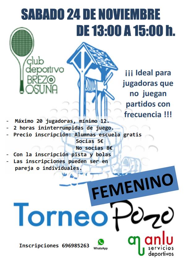 2 Torneos De Padel El 24 Y 25 Noviembre Apuntate Club