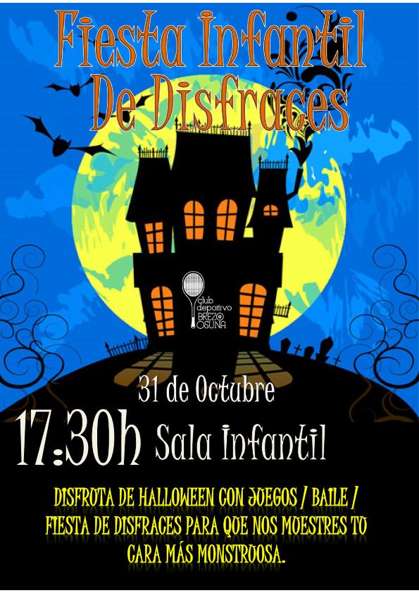 Fiesta infantil de disfraces halloween 31 de octubre - Fiesta halloween infantil ...